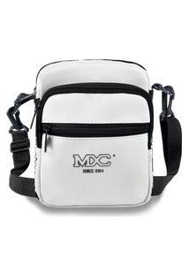 Shoulder Bag Mxc Brasil Mini Bolsa Lateral Ombro Necessaire Transversal Branco