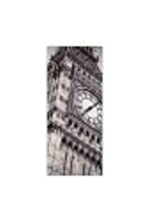 Adesivo Decorativo De Porta - Big Ben - Londres - 587Cnpt Auto Colante