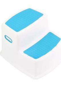 Banquinho - 2 Degraus - Azul - Kavod