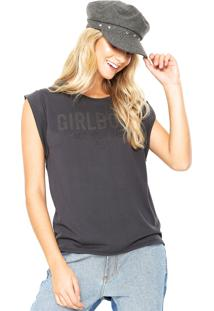 Camiseta Colcci Comfort Cinza