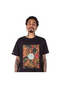 Camiseta Stoned Flowery Women Preta