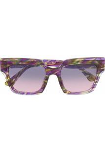 Etnia Barcelona Óculos De Sol Simbo - Roxo