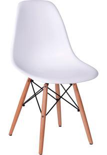 Cadeira Em Mdp/Mdf Base Escura 1102-Or Design - Branco