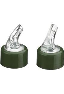 Bico Dosador Brinox Parma Para Azeiteiro E Vinagreiro 3Cm - Verde