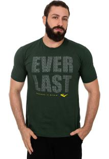 Camiseta Everlast Repeat Verde