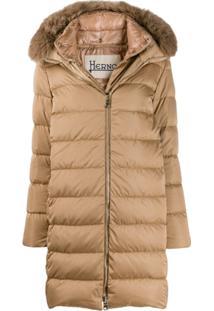 Herno Midi Padded Jacket - Neutro