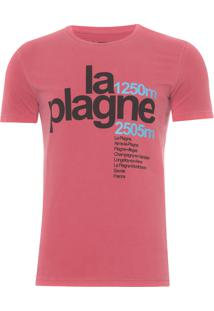 Camiseta Masculina La Plagne - Vermelho
