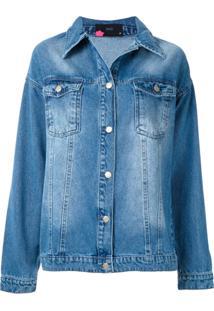 Eva Jaqueta Jeans Love - Azul