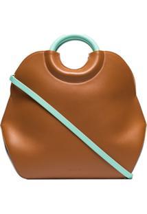 Complét Bolsa Tote Neomi Mini - Marrom
