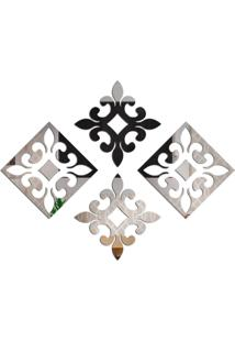 Espelho Love Decor Decorativo Kit Vintage Único - Kanui