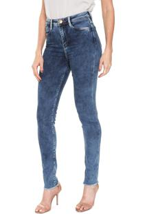 Calça Jeans Carmim Skinny Kelly Clarkson Azul
