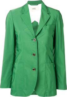 Ports 1961 Classic Single-Breasted Blazer - Verde
