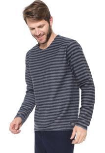 Camiseta Reserva Dupla Face Básica Azul