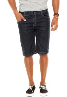 Bermuda Jeans Rusty Slim Imply Azul-Marinho