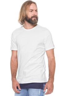 Camiseta Triton Estampada Off-White
