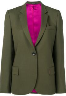 Ps Paul Smith Blazer De Alfaiataria - Verde