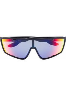 Prada Eyewear Óculos De Sol - Preto