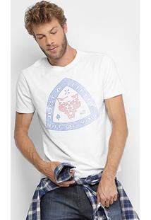 Camiseta Ellus 2Nd Floor Gola Careca Just A Little Masculina - Masculino