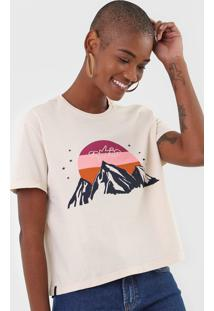 Camiseta Cantão Hiking Bege - Kanui