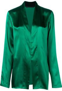 Haider Ackermann Metallic Blouse - Verde