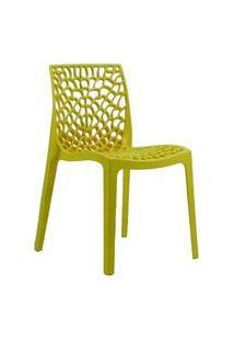 Cadeira Byartdesign Gruvyer Amarela