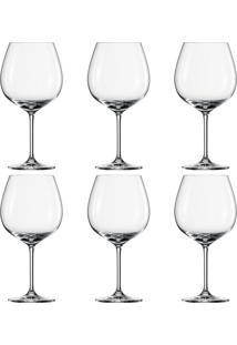 Taça Para Vinho Borgonha Ivento Shott 6 Peças 783Ml - 16115