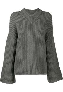 Nanushka Suéter De Tricô 'Mello' - Cinza