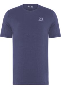 Camiseta Masculina Cc Left Chest Lock Up - Azul
