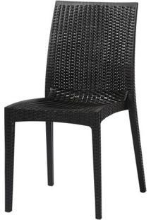 Cadeira Ibiza Polipropileno Cor Preto - 29679 - Sun House