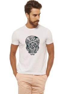 Camiseta Joss - Caveira Detalhes - Masculina - Masculino