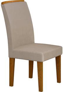 Cadeira Lunara - Rufato - Imbuia / Creme