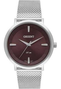 Relógio Orient Feminino Classic Analógico - Feminino-Prata