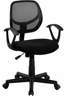 Cadeira Giratória Giga Ii 60X62Cm Preta