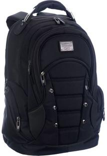 Mochila Para Notebook - Preta - 46X32X20Cm - Mc Mc Queen