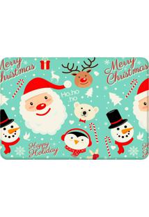 Tapete Sala Wevans Merry Christmas Único Love Decor