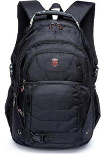 Mochila Swissport Notebook Executiva 21L - Unissex-Preto