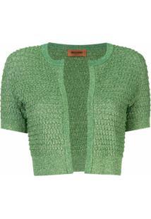 Missoni Cardigan De Lurex - Verde