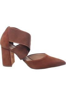 Sapato Scarpin Bottero Feminino Elástico 303804