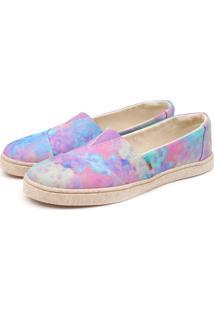 Sapatilha Casual Forrada Jl Shoes Tie Dye