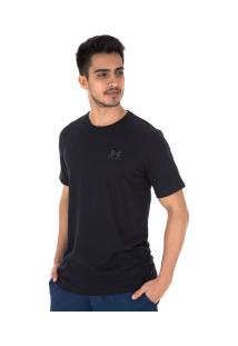 Camiseta Under Armour Left Chest Ss - Masculina - Preto
