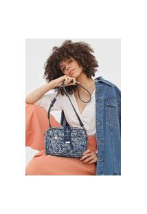 Bolsa Transversal Across Body Bag Galaxy Azul
