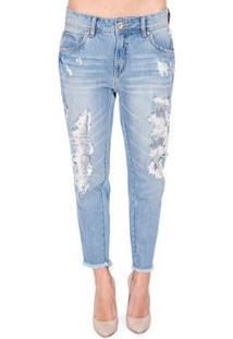 d3ec71c71 ... Calça Jeans Boyfriend Colcci - Feminino-Azul