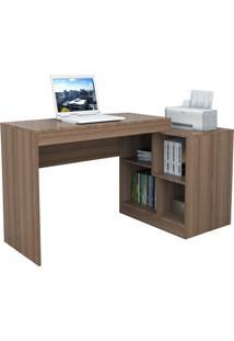 Escrivaninha E Mesa P/ Computador Moove Castanho Appunto