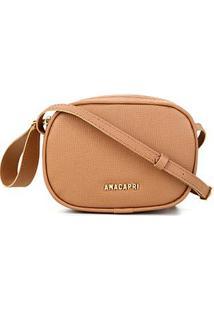 Bolsa Anacapri Mini Bag Pqn Bali Feminina - Feminino-Caramelo