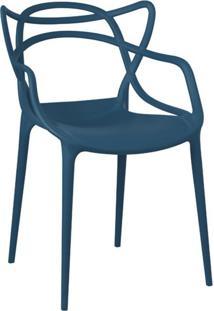 Cadeira Allegra Verde Petroleo