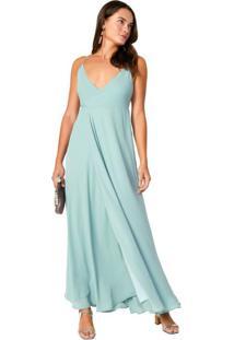 dce2e68a7 Vestido Transpassado Verde feminino | Shoelover