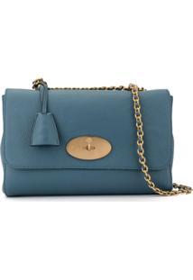 Mulberry Bolsa Tiracolo Lily Média - Azul