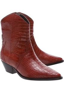 Bota Croc Com Recortes- Marrom Claroschutz
