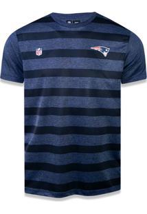 T-Shirt New Era Performance New England Patriots Mescla Marinho