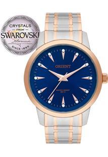 Relógio Orient Feminino Swarovski Ftss0057D1Sr